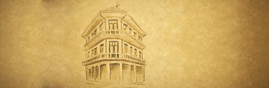 """Eskişehir'in ilk apartmanı """"Kükrer Apartmanı"""""""