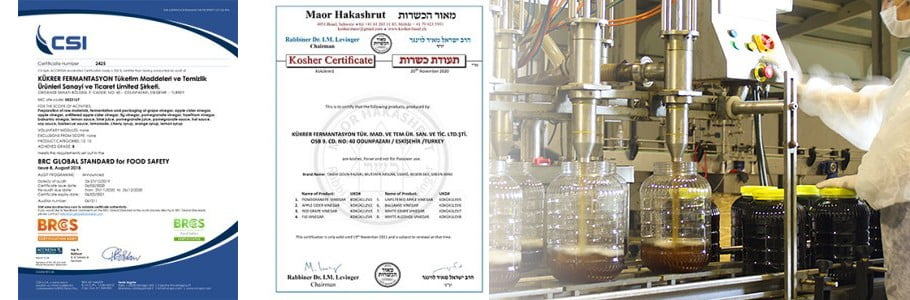 BRC ve Kosher sertifikaları alınarak ihracat yapılan ülkelere yenileri ekleniyor.